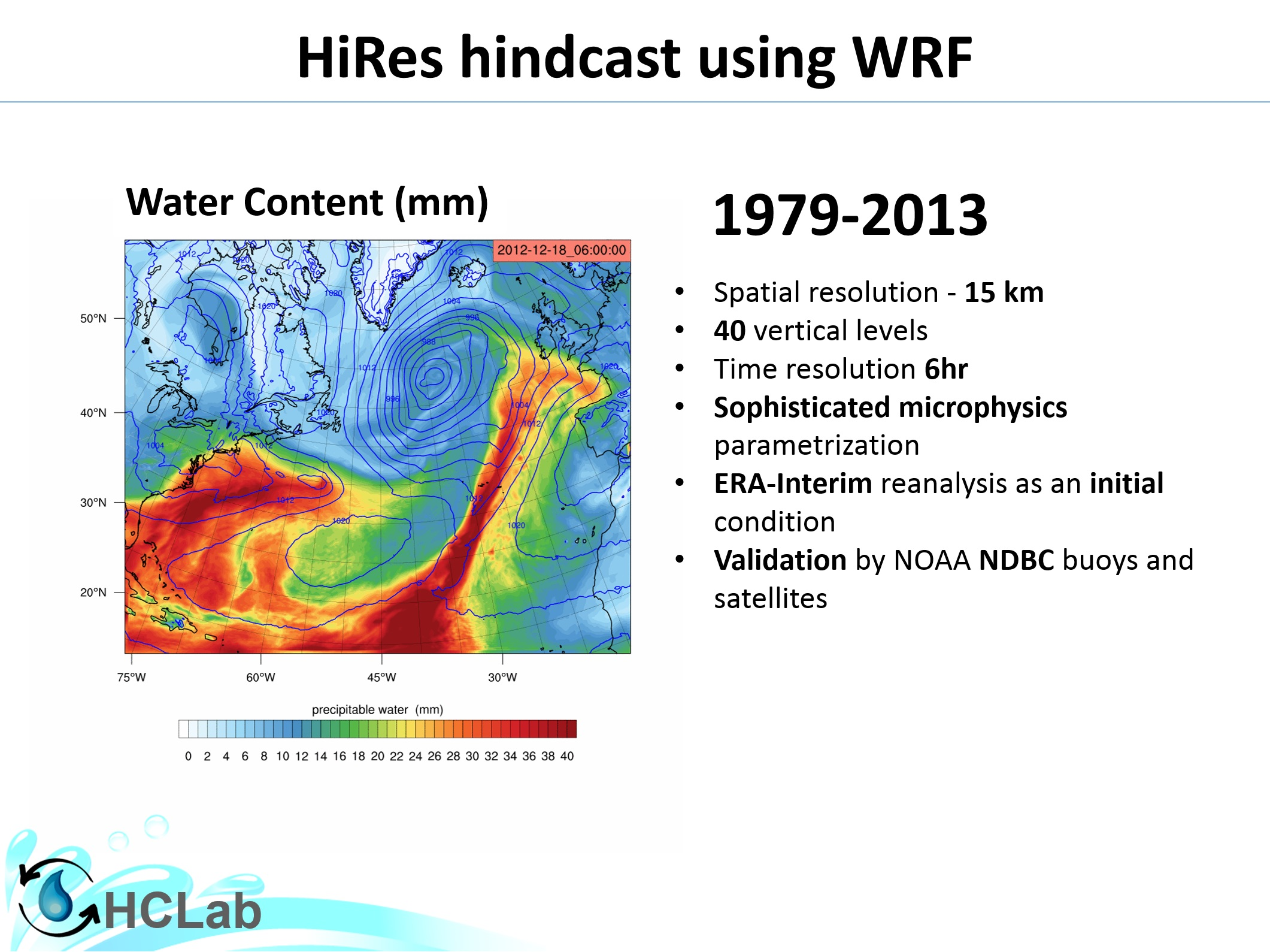Mesoscale modelling of hydrological extremes